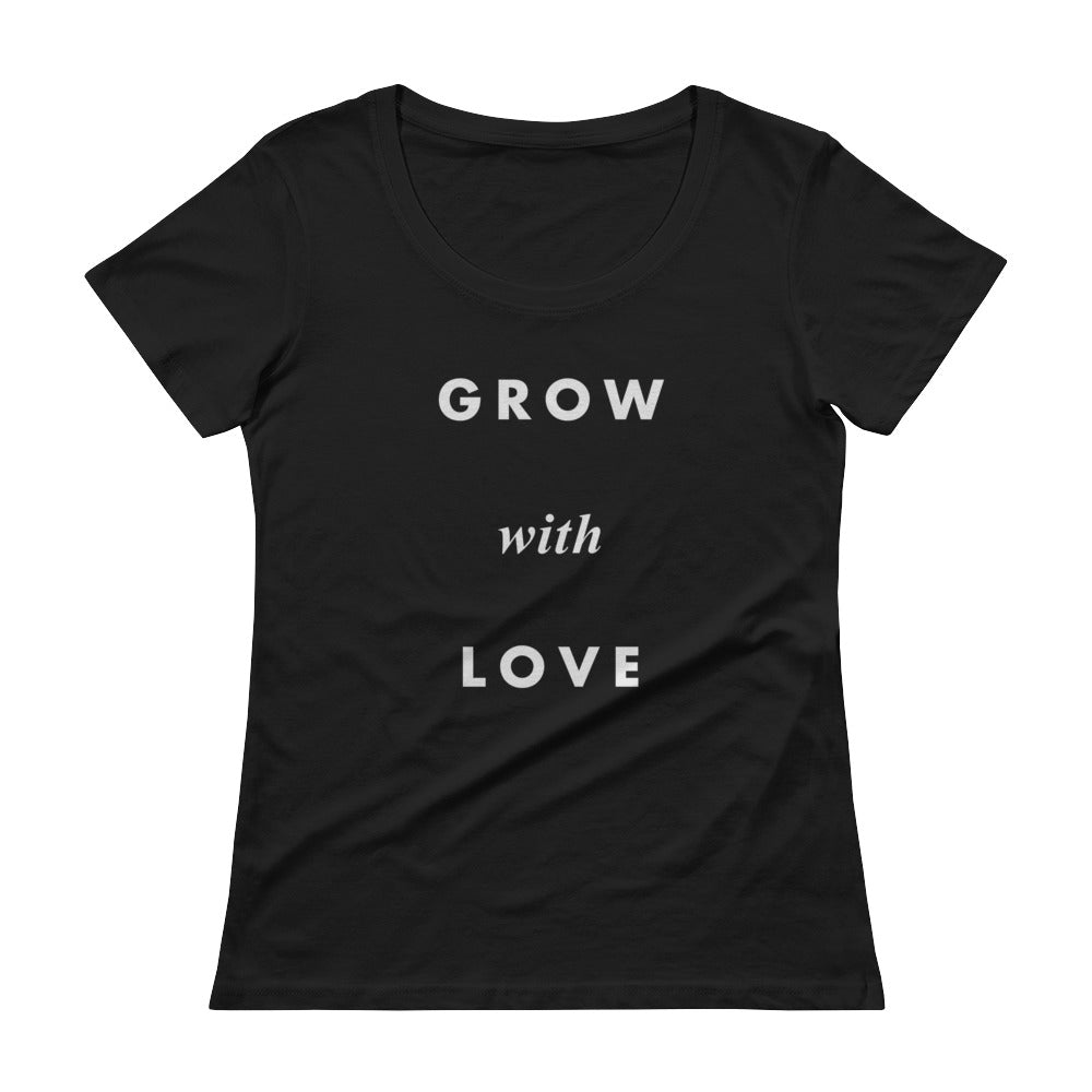 Grow with Love T-Shirt Black