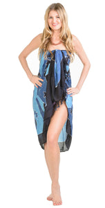 Kelong - Sarong.de Sarong Pareo Wraparound Beach Cover Lunghi Lunghis Pareos Sarongs