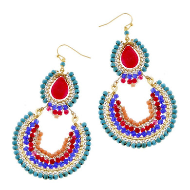 Eranthis Colorful Drop Earrings