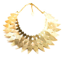 Tribal Brass Collar Necklace