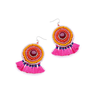 Tulip Feather Earrings