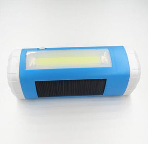 Outdoor Solar Powered Bluetooth Wireless Speaker With LED Flashlight TF Card Slot and Mini USB Charging