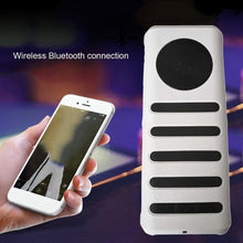 3 In 1 Outdoor Wireless Bluetooth Stereo Bass Speaker With 3LED Flashlight and 3000mAh Mobile Power Bank