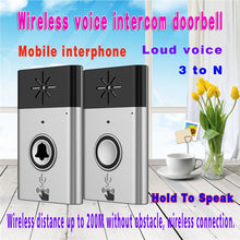 2.4G Wireless Intercom Doorbell
