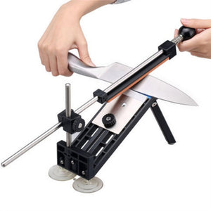 Multifunctional Professional Fixed-Angle Knife Sharpening System with Grindstone