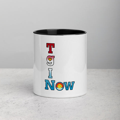 "T-Bird Soaring ""Thankful Ascension"" Mug with Color Inside"