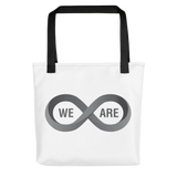 "T-Bird Soaring ""We Are Infinite"" All Over Tote Bag"
