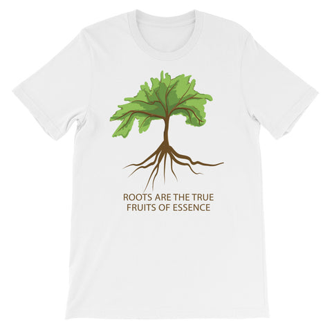 "T-Bird Soaring 3001 ""Short-Sleeve ""Roots True Fruits""  Unisex T-Shirt"