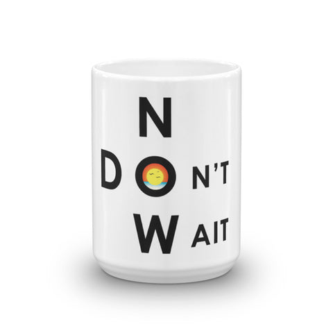 "T-Bird Soaring ""Don't Wait - Now"" Mug"