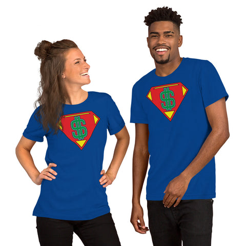 "T-Bird Soaring 3001 ""$uperMoney"" Short-Sleeve Unisex T-Shirt"