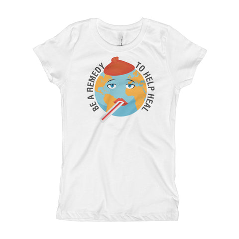"T-Bird Soaring ""Be the Remedy"" Next Level 3710 Girl's T-Shirt"