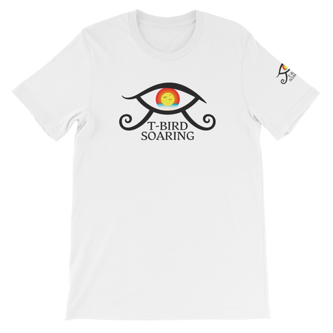 "T-Bird Soaring 3001  ""Elevating Eye"" Short-Sleeve Unisex T-Shirt"
