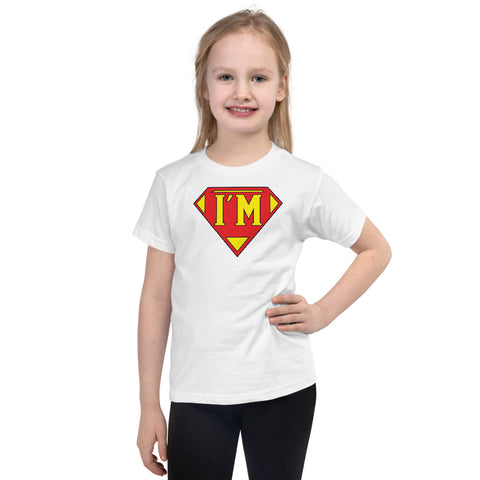 "T-Bird Soaring ""I'm Super"" 2105 Short Sleeve Kids T-Shirt"