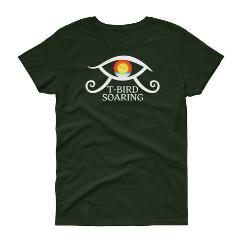 "T-Bird Soaring 5000l ""Elevating Eye"" Women's Short Sleeve T-Shirt"