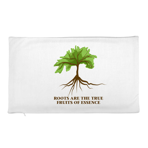 "T-Bird Soaring Rectangular ""Roots True Fruits"" Pillow Case"