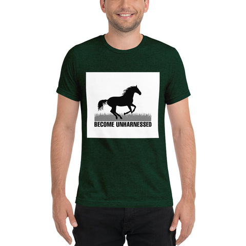 "T-Bird Soaring ""Unharnessed"" Short Sleeve T-Shirt"