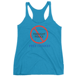 "T-Bird Soaring ""Freethinker"" 6733 Women's Racerback Tank Top"