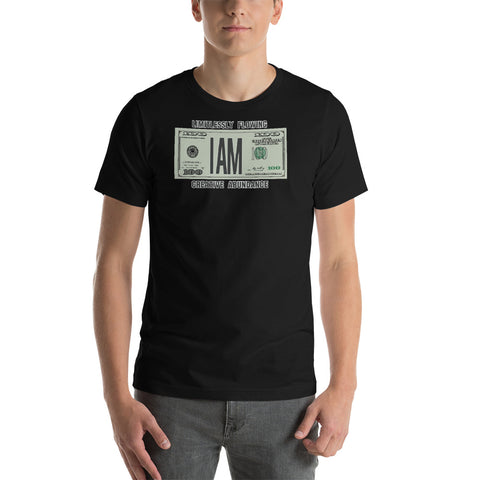 "T-Bird Soaring 3001 ""I Am Limitle$$"" Short-Sleeve Unisex T-Shirt"