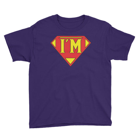 "T-Bird Soaring ""I'm Super"" Youth Short Sleeve T-Shirt"