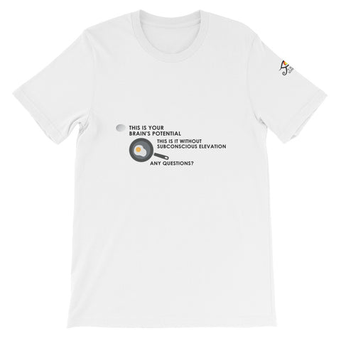 "T-Bird Soaring 3001  ""This Is Your Brain"" Short-Sleeve Unisex T-Shirt"