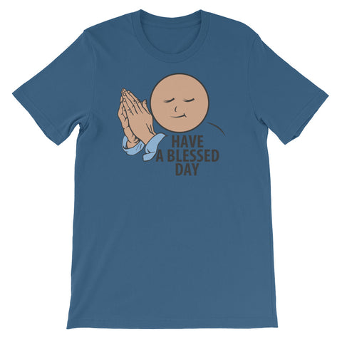 "T-Bird Soaring 3001 ""Blessed Day"" Short-Sleeve Unisex T-Shirt"