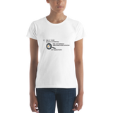 "T-Bird Soaring 880 ""This Is Your Brian"" Women's Short Sleeve T-Shirt"