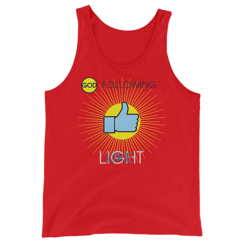 "T-Bird Soaring  ""God Following"" 3480 Unisex Tank Top"