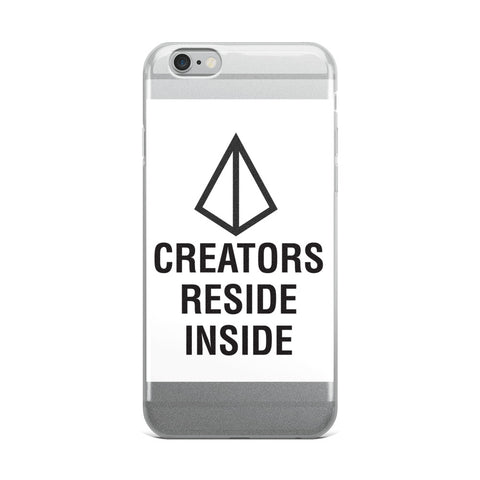 "T-Bird Soaring'Creators Inside"" iPhone Case"