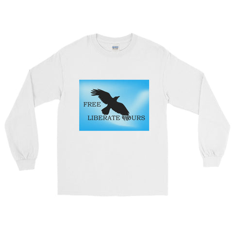 "T-Bird Soaring Long Sleeve T-Shirt  ""Liberate"""