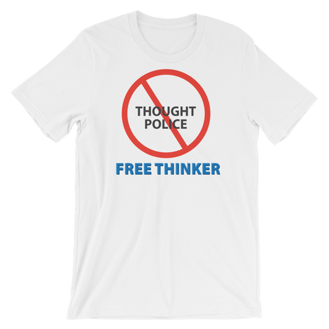 "T-Bird Soaring 3001 ""Thought Police"" Unisex Short-Sleeve Unisex T-Shirt"