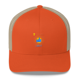 "T-Bird Soaring 6606 Retro ""God Following"" Trucker Cap"