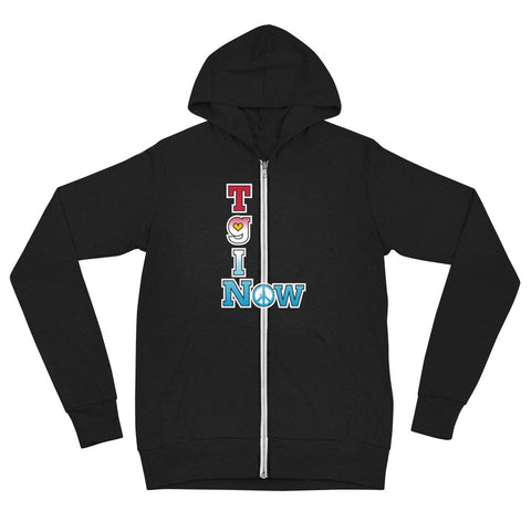 "T-Bird Soaring ""Thankful Peace"" 3939 Unisex Zip Hoodie"