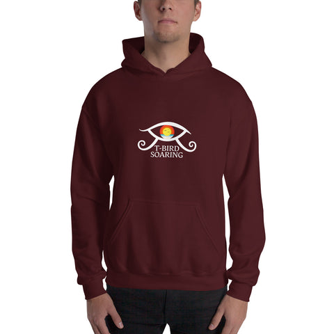 T-Bird Soaring (Lighter Logo) 18,500 Hooded Sweatshirt