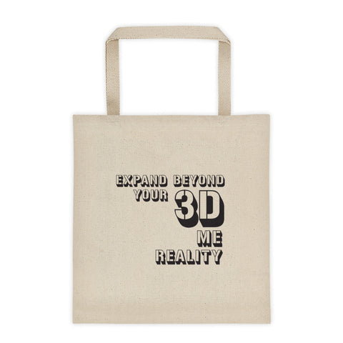 "T-Bird Soaring""Expand Beyond 3D"" Tote bag"