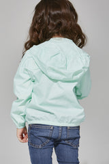 Kids Mint Full Zip Packable Jacket - Kids -  O8lifestyle