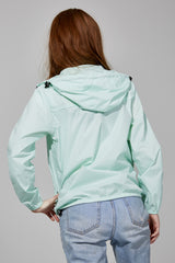 Mint Full Zip Packable Jacket