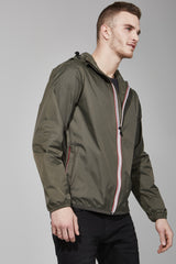 Torba Full Zip Packable Jacket - Men -  O8lifestyle