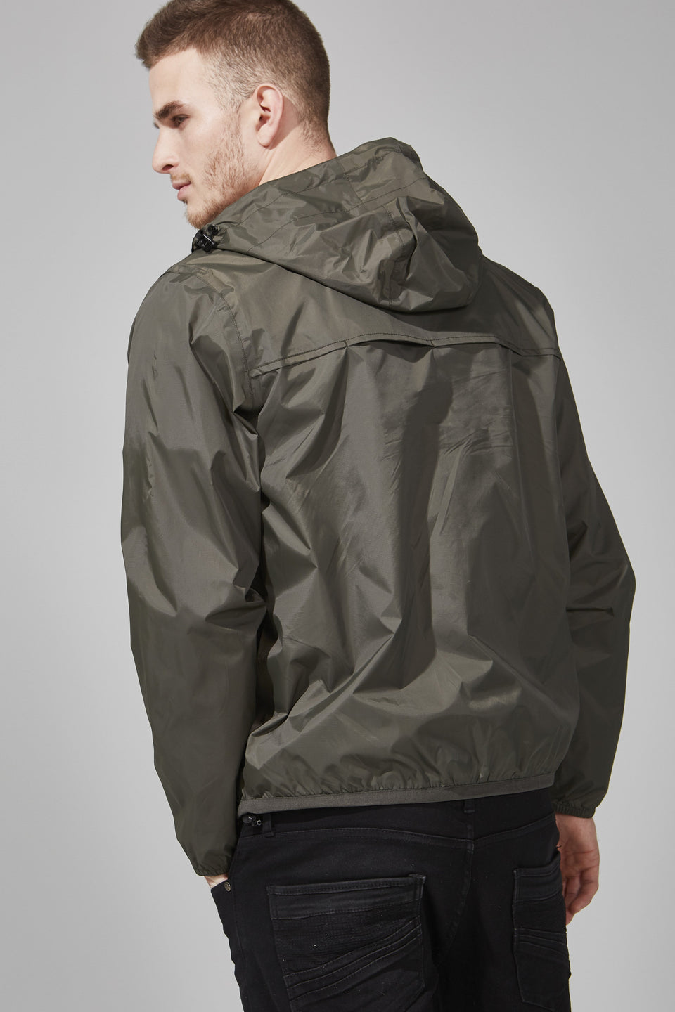 Torba Quarter Zip Packable Jacket - Men -  O8lifestyle