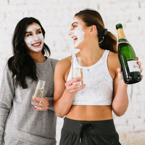 Athia Champagne Face Mask for Beautiful, Healthy, and Happy Skincare (Skin Care), Made from High Quality, Safe, and Healthy Ingredients - from Athia Skin in USA