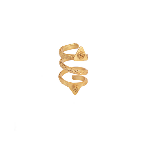 Liza Echeverry Colombia Colombian Jewelry Designer La Familia Ring Roots Collection