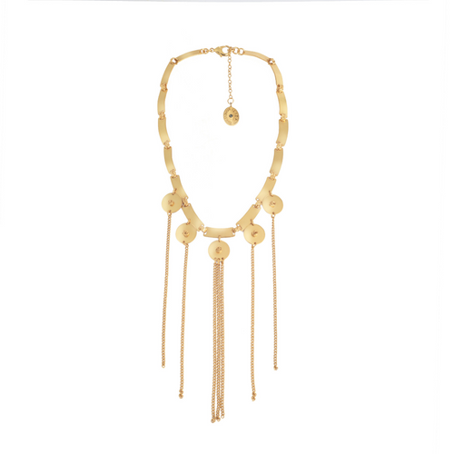 Liza Echeverry Colombia Colombian Jewelry Designer El Baile Necklace Roots Collection