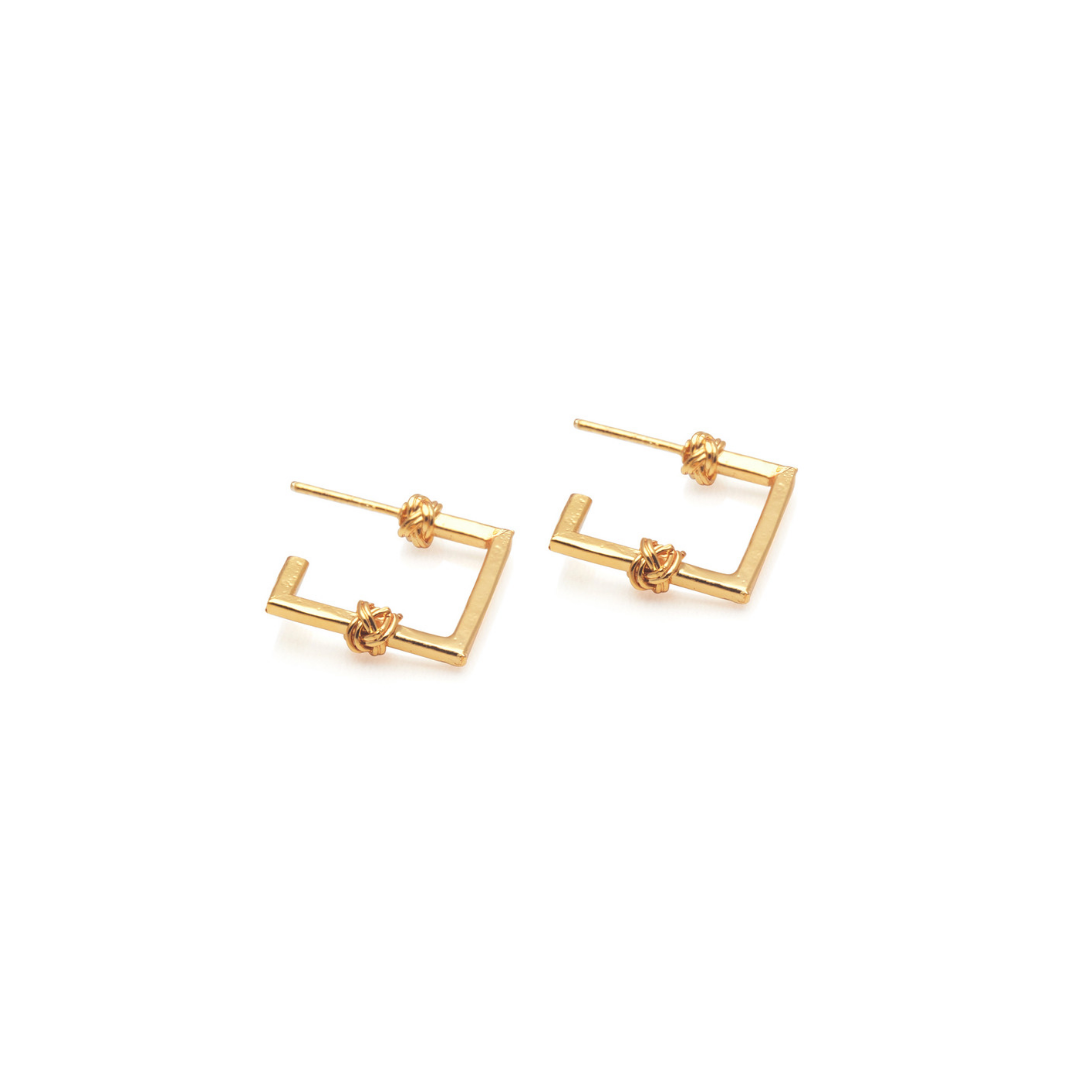 MINI FRAME EARRINGS