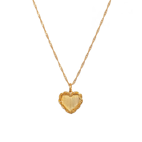 INITIALS LOVE CHARM NECKLACE