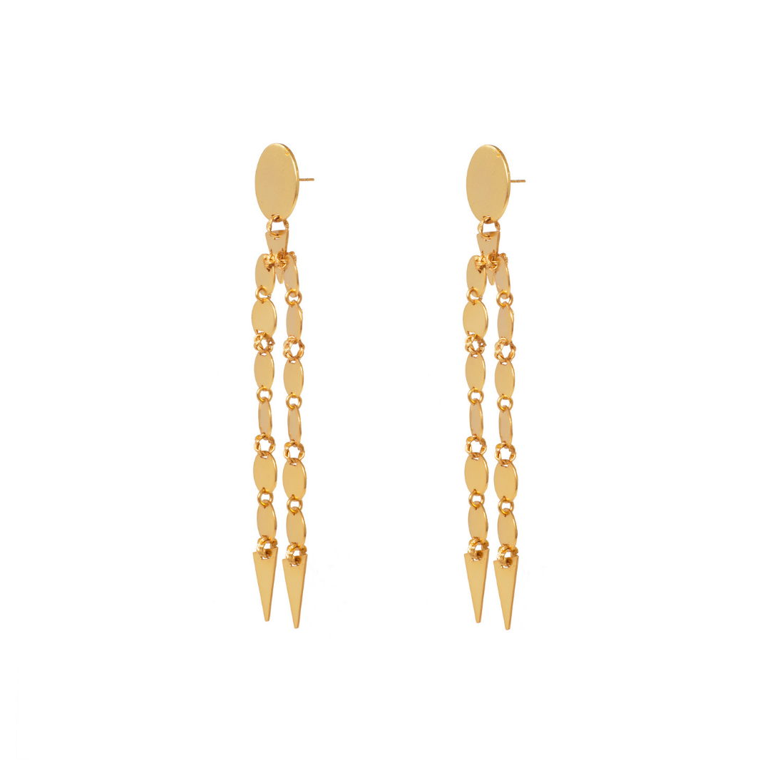 Liza Echeverry Colombia Colombian Jewelry Designer La Vida Earrings Roots Collection