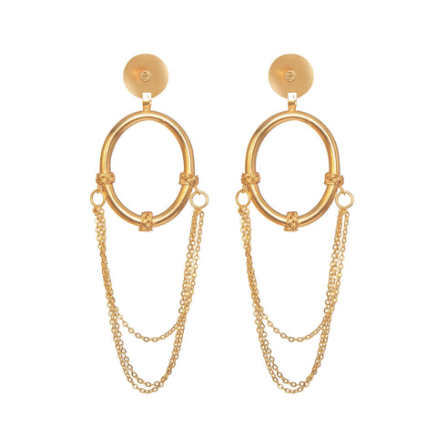 BETTE DAVIS EYES HOOPS