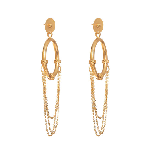 Liza Echeverry Colombia Colombian Jewelry Designer Stardust Collection Dance Floor Earrings