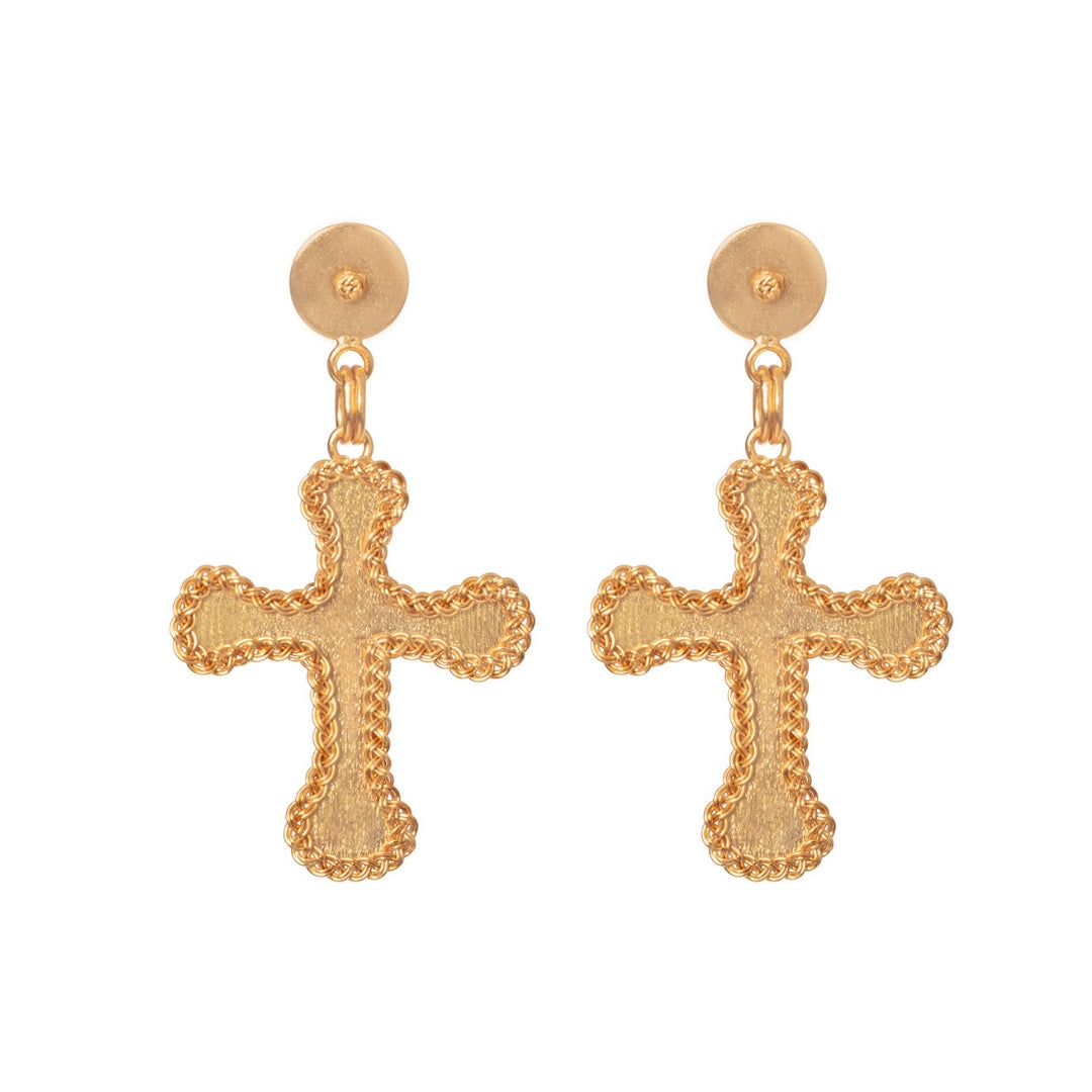 Liza Echeverry Colombia Colombian Jewelry Designer Stardust Collection Faith Earrings
