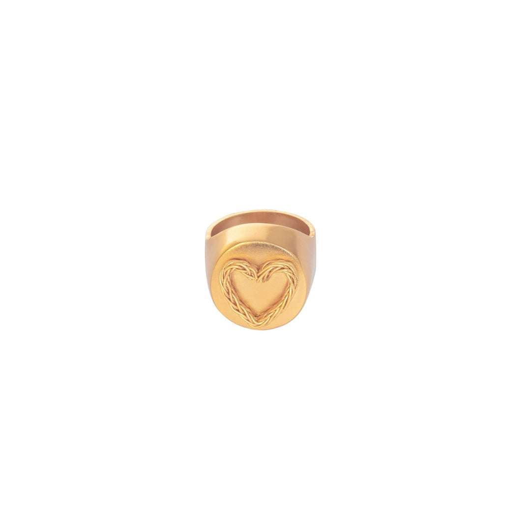 Liza Echeverry Colombia Colombian Jewelry Designer Stardust Collection Love is Love Ring