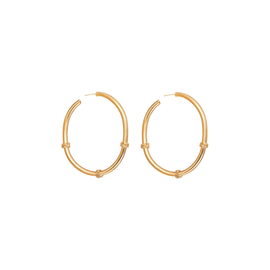 Liza Echeverry Colombia Colombian Jewelry Designer Stardust Collection Mercury Hoops