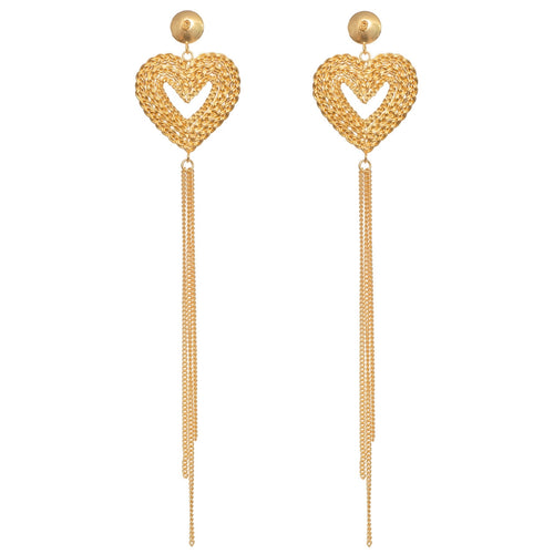 Liza Echeverry Colombia Colombian Jewelry Designer Stardust Collection Tainted Love Earrings